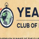 50 ANNI DEL CLUB DI ROMA, UN SUMMIT INTERNAZIONALE SUL CLIMA