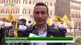 DL GENOVA, LEGAMBIENTE IN PIAZZA CONTRO IL CONDONO DI ISCHIA E DEL CENTRO ITALIA