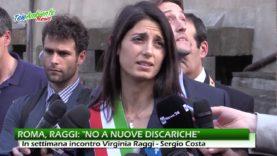 """RIFIUTI, RAGGI: """"NO A NUOVE DISCARICHE, USIAMO QUELLE ESISTENTI"""""""