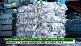 """L'ECONOMIA CIRCOLARE IN ITALIA """"VALE"""" 88 MILIARDI"""