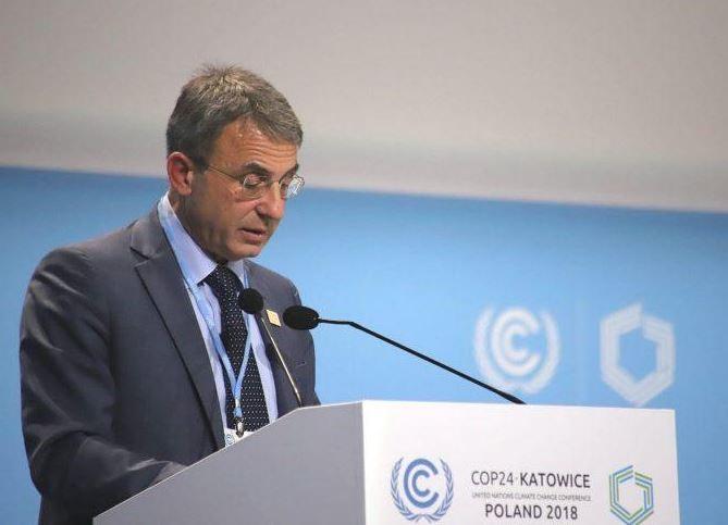"""COP24, MINISTRO COSTA: """"INTENSIFICARE LOTTA AI CAMBIAMENTI CLIMATICI E STOP A CARBONE ENTRO IL 2025"""""""