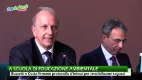 A SCUOLA DI EDUCAZIONE AMBIENTALE, MIUR E MINISTERO DELL'AMBIENTE SOTTOSCRIVONO PROTOCOLLO D'INTESA