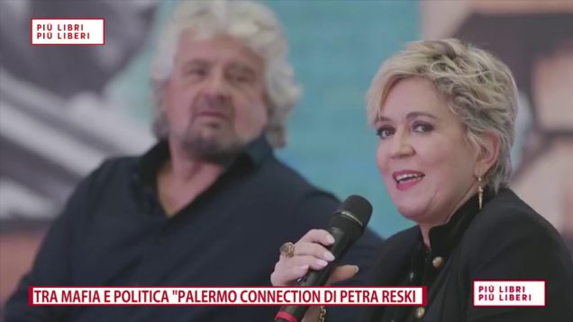 "BEPPE GRILLO E PETRA RESKY, ""PALERMO CONNECTION"""