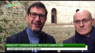 """FRASCATI, """"CONDIVIDERE PER FAR COMPETERE"""". I CASTELLI ROMANI UNITI PER LO SPORT"""