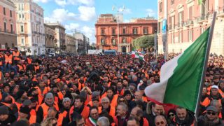 protesta gilet arancioni