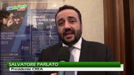 SEGNALI POSITIVI DALL'AGRICOLTURA ITALIANA. CREA PRESENTA EDIZIONE 2017 ANNUARIO