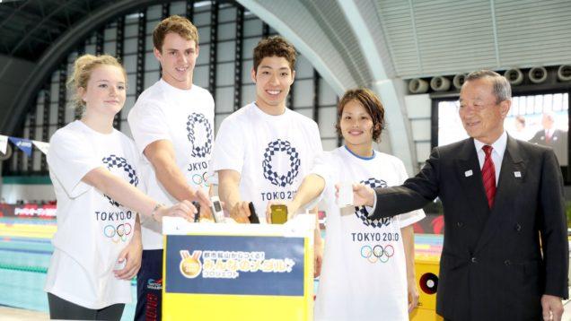 olimpiadi tokyo riciclo