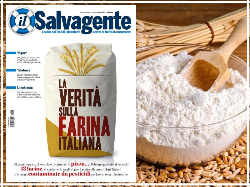 """Farina italiana, tutta la verità. Il test sulla rivista """"Il Salvagente"""". VIDEO"""