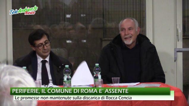 PERIFERIE, IL COMUNE DI ROMA È ASSENTE