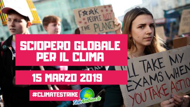 clima sciopero globale