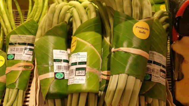 plastica foglie banano