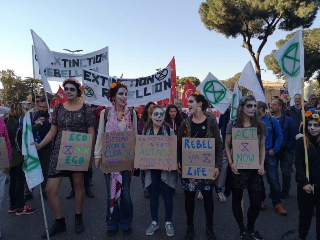 Clima, in marcia a Roma il 23 marzo contro le grandi opere inutili. VIDEO