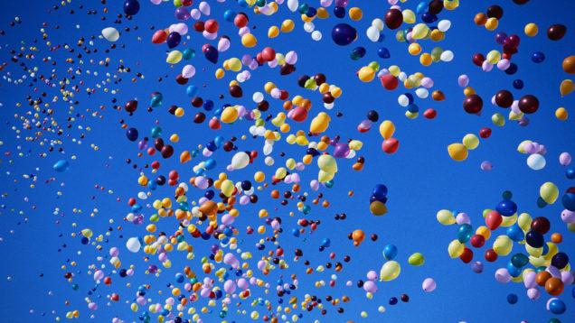 plastica palloncini
