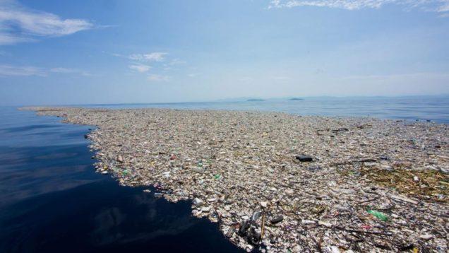 plastica isola pacifico