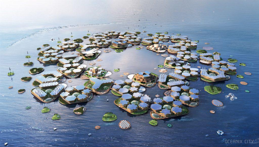 Una città futuristica sull'acqua per combattere il cambiamento climatico VIDEO