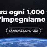 """Earth Day 2019, Treedom lancia il video """"che produce ossigeno"""""""