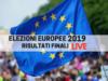 elezioni europee risultati