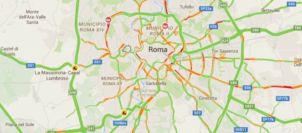 Roma, venerdì 24 maggio, cortei, comizi, deviazioni traffico e bus INFO