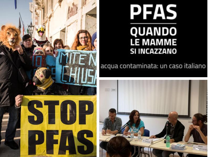 """""""PFAS quando le mamme si incazzano"""", video-inchiesta del giornalista Andrea Tomasi TRAILER"""