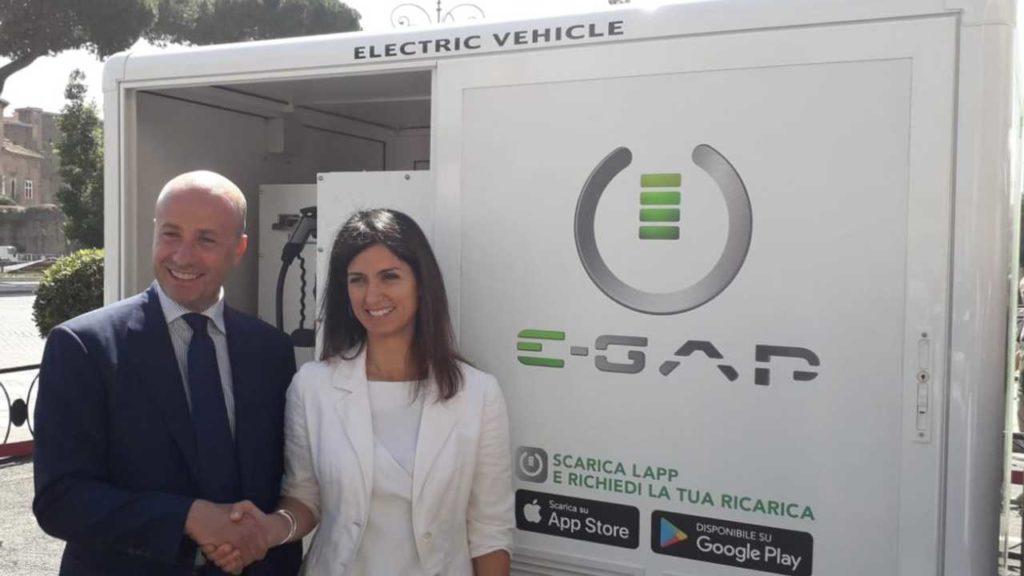E-Gap, arriva a Roma il servizio di ricarica mobile on demand