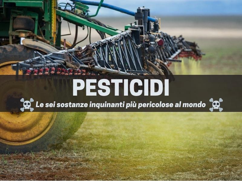 Pesticidi, una delle sei sostanze inquinanti più pericolose al mondo