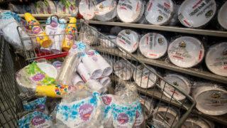 plastica monouso supermercati