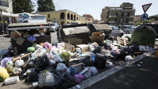 rifiuti ordinanza roma