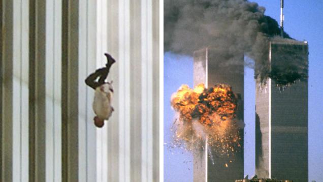 11 settembre the falling man