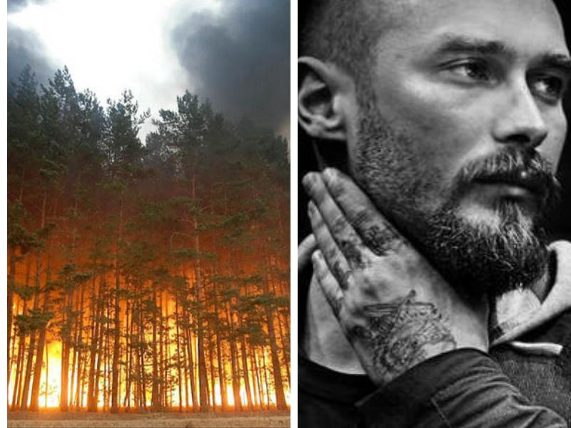 """Incendi in Siberia, Nicolai Lilin: """"Non è ancora finita"""""""