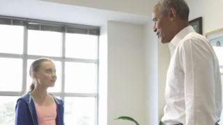 obama incontra greta 2