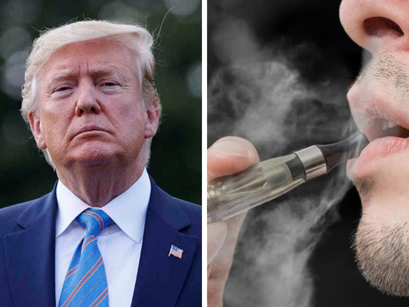 Sigarette elettroniche aromatizzate, Trump vuole vietarle: troppi decessi