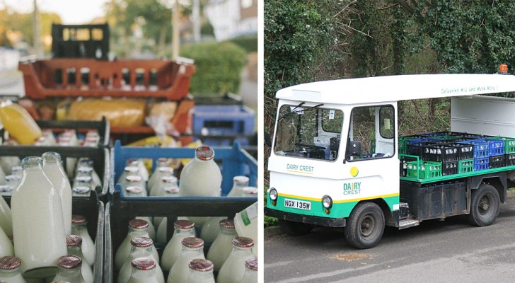 Plastica, a Londra si torna a consegnare il latte nelle bottiglie di vetro