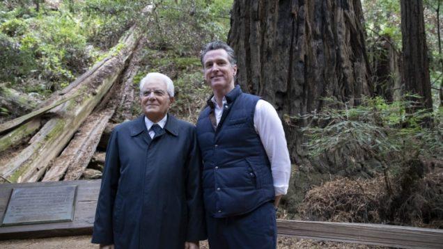 Mattarella California tema ambientale 4