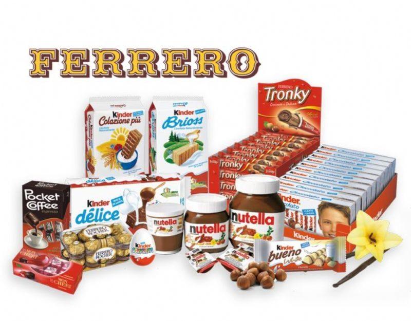 Ferrero dice addio alla plastica