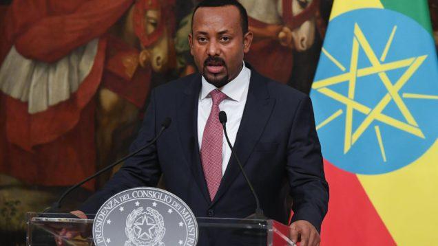 Italian Premier Conte meets Ethiopian premier Abiy Ahmed