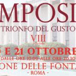 """Roma, """"Simposio, trionfo del gusto"""" per celebrare le eccellenze del Made in Italy"""
