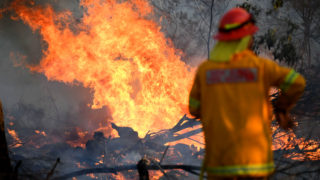 At least three dead, thousands evacuated as bushfires continue in New South Wales, Glenn Innes, Australia – 10 Nov 2019