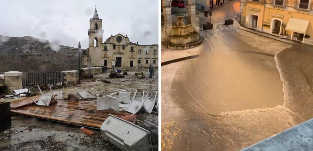 """Matera, dopo nubifragio chiesto lo stato di calamità. De Ruggieri: """"Danni per 8 milioni di euro"""""""
