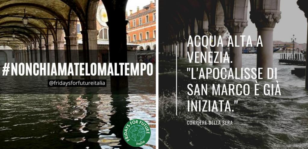 """Clima, Fridays for Future Italia: """"Non chiamatelo maltempo"""". Tutti in piazza venerdì 29 novembre"""