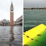 Venezia sommersa dall'acqua, danni incalcolabili. Si riaccende il dibattito sull'opera del Mose