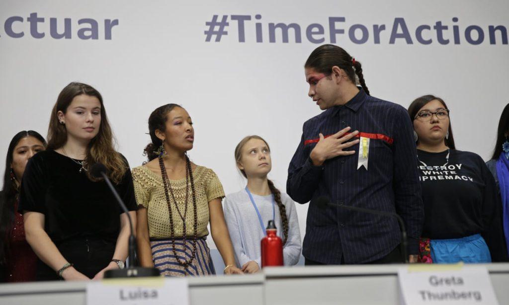 COP25, non solo Greta: è il giorno dei giovani attivisti VIDEO