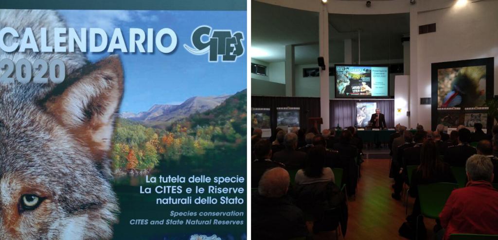CITES, calendario 2020 dell'Arma dei Carabinieri: tutela delle specie e dei loro habitat