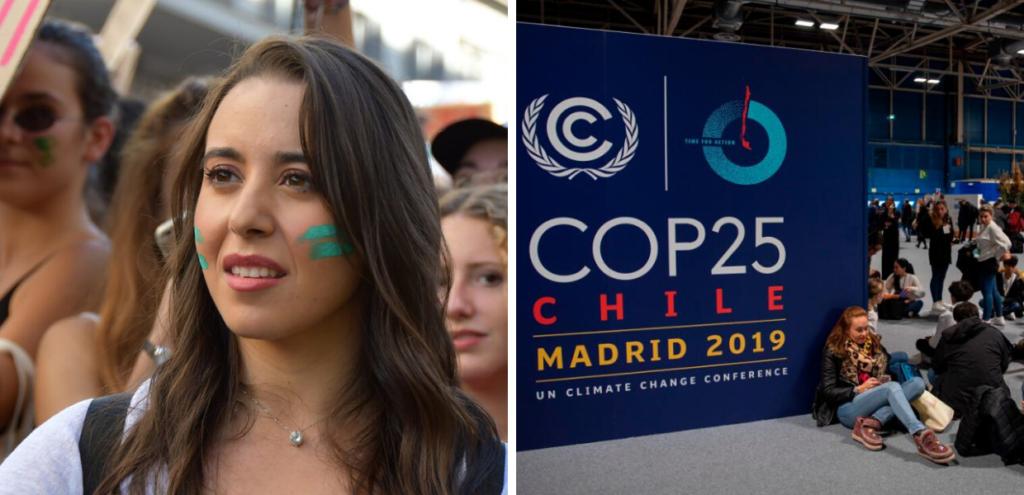 Cop25, Federica Gasbarro a Madrid per la conferenza sul clima