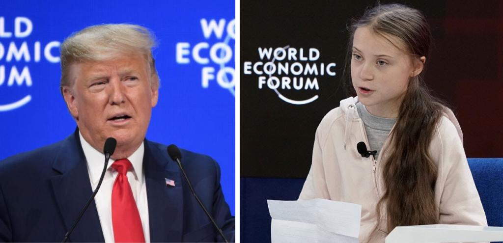 """Davos, Greta Thunberg contro Trump: """" Sul clima non è cambiato niente"""""""