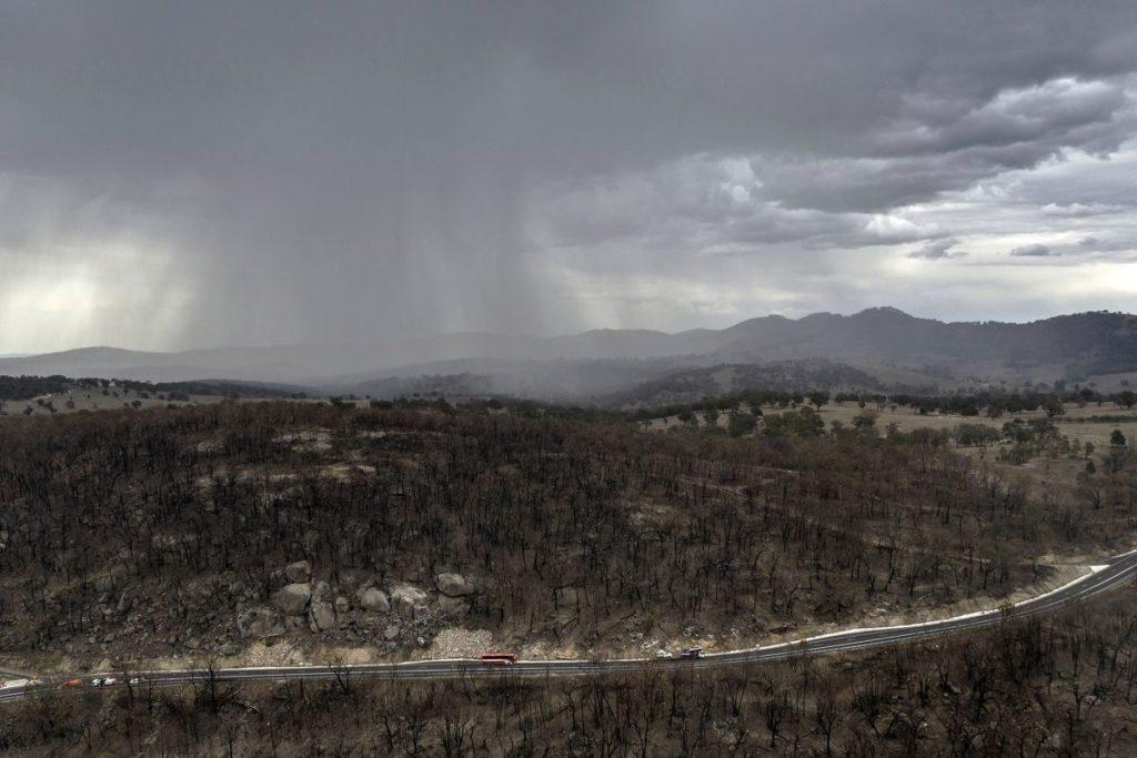 Australia, sollievo con l'arrivo delle piogge ma potrebbero esserci nuovi pericoli