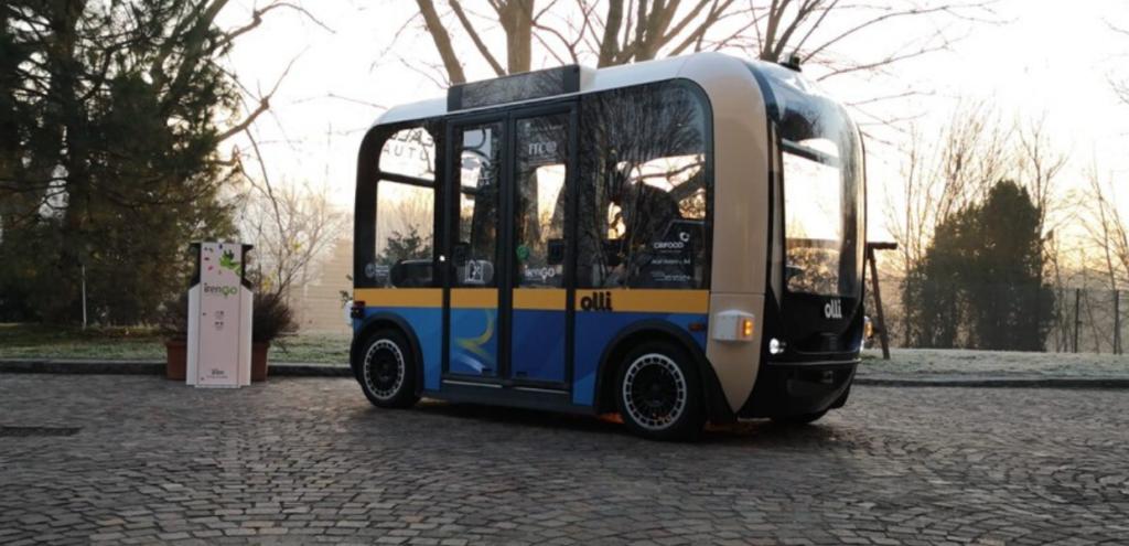 Inquinamento, presentato a Torino il primo bus elettrico a guida autonoma