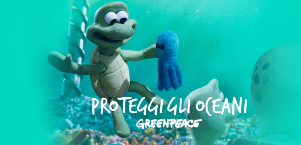 """""""Tartarughe in viaggio"""", il corto di Greenpeace per salvare gli oceani VIDEO"""
