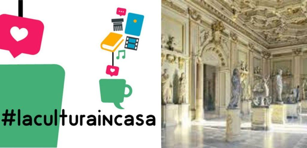 Roma, #laculturaincasa su web e social.  Tutti gli appuntamenti dal 30 marzo al 5 aprile