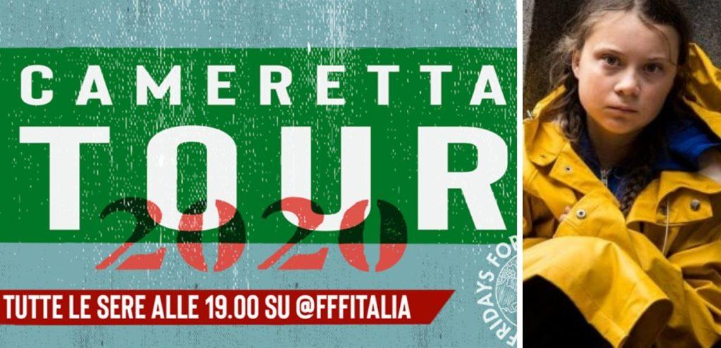 Covid-19, Greta ospite del 'Cameretta Tour' dei Fridays for Future il 3 aprile