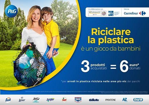 Riciclare la plastica è un gioco da bambini. Al via progetto Corepla,Federparchi e P&G